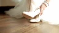 bride shoe elegance video