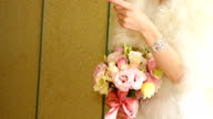 Bride With Bouquet video