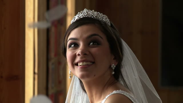 Bride With Petals video