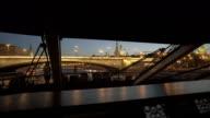 Bridge And Moscow Kremlin's Wall video