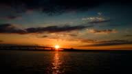 Bridge at Sunset - HD video