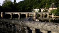 Bridge in Dordogne France video