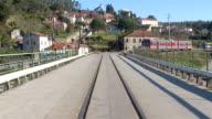A bridge in Douro Portugal video