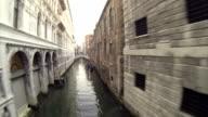 Bridge of Sighs in Venice video