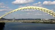 Bridge over Ohio River  - CINCINNATI, OHIO USA video