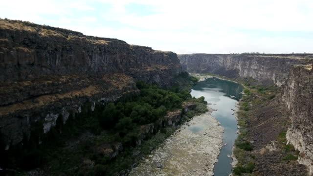 Bridge River Canyon Fly Under video