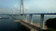Bridge Russky through the Strait of Eastern Bosphorus video