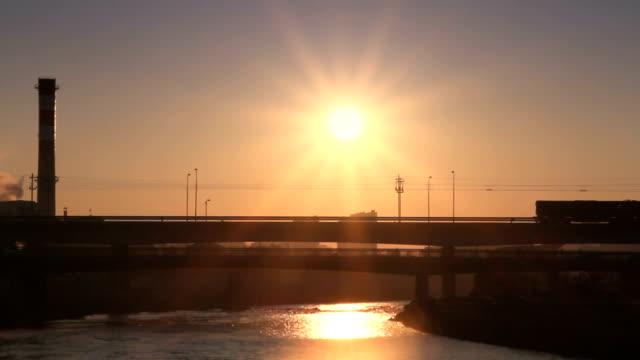 bridge sunrise video