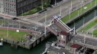 bridge through a lock falls for journey of motor transport video