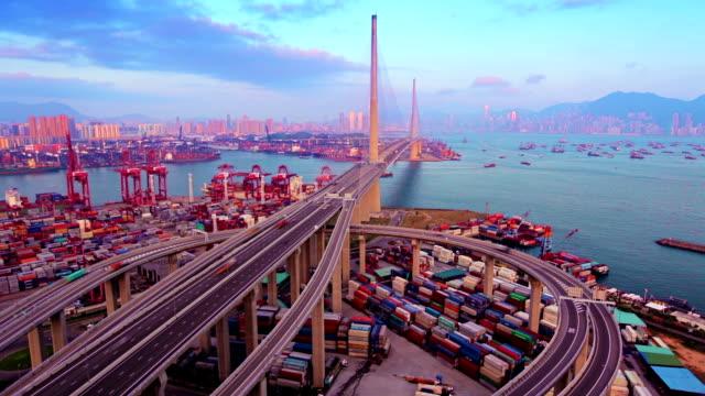 Bridge to Hong Kong. video