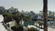 Bridge to Santa Monica Pier video