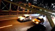 Bridge Traffic at Angle video