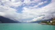 Brienz lake time lapse video