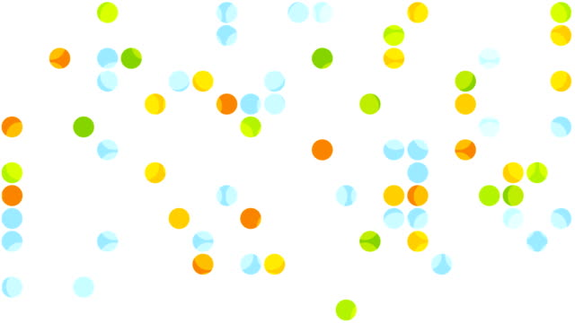 Bright abstract circles video animation video