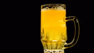 Bright Beer Bubbles video