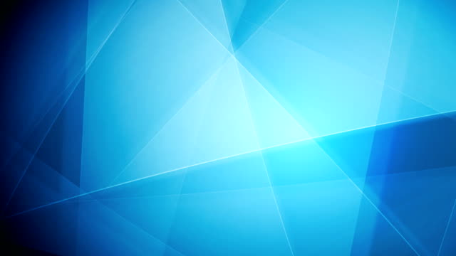 Bright blue tech shapes video animation video