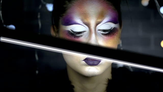 Bright Fashion and Editorial Make up video