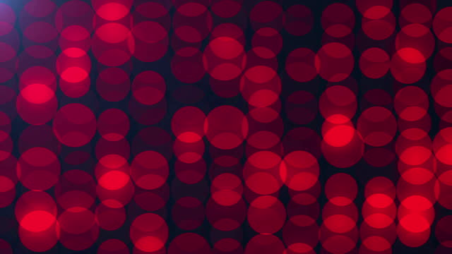 Bright red circles pattern background. video