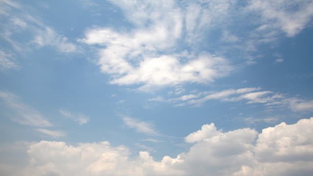 Bright Shiny Day Clouds (HD) video