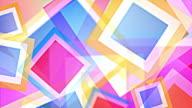 Bright Squares Background Loop - Pastel Rainbow (Full HD) video