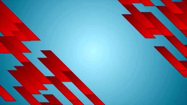 Bright tech geometric abstract video animation video