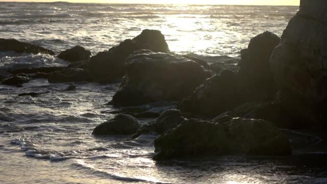 Brilliant Golden Hour Slow Motion Surf video
