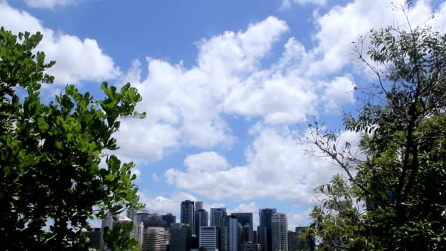 Brisbane City Tilt Down video