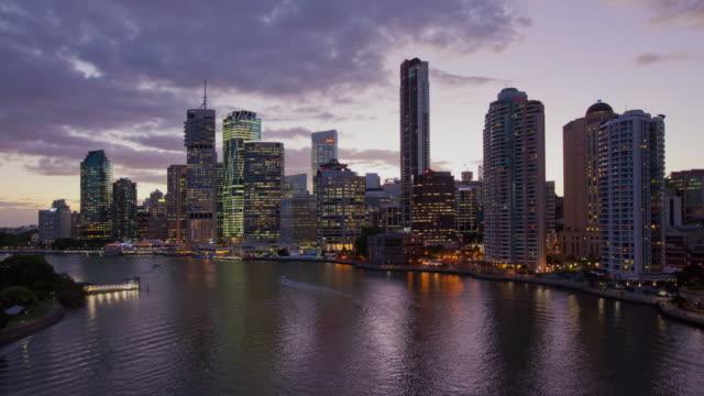 Brisbane Cityscape from Story Bridge Hyperlapse video