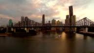 Brisbane, QLD, Australia Aerial video