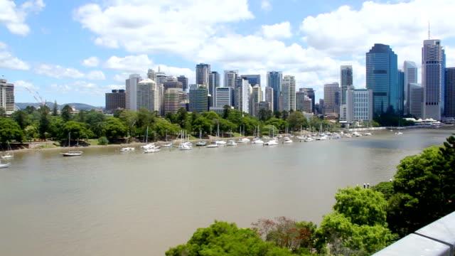 Brisbane River Pan video