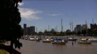 Brisbane River with Story Bridge video