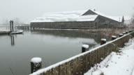 Britannia Heritage Shipyard Snow, Steveston video