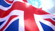 British Flag High Detail video