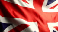 British Flag in the Wind video