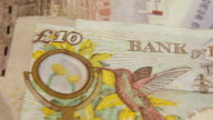 MACRO British Pound Notes Credit Crunch Recession £10 video