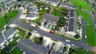 British Suburb housing estate video