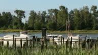 Britttania Heritage Runabout Passing Dock video