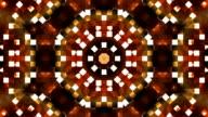 Broadcast Firey Light Hi-Tech Squares Kaleidoscope 05 video