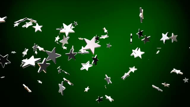 Broadcast Flying Hi-Tech Stars, Green, Events video