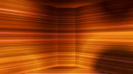 Broadcast Horizontal Hi-Tech Lines Dome, Golden, Abstract video