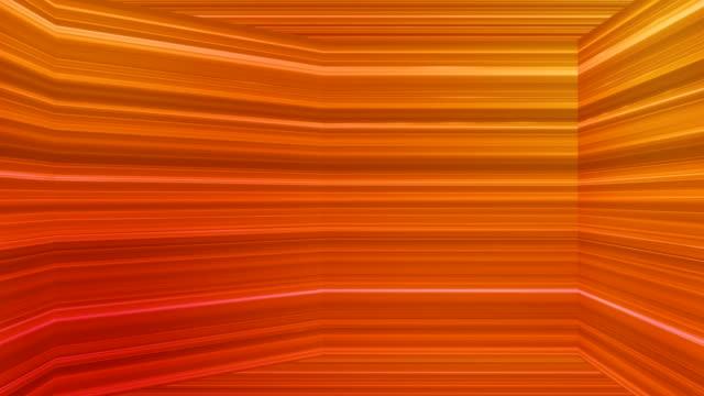 Broadcast Horizontal Hi-Tech Lines Dome, Orange, Abstract video