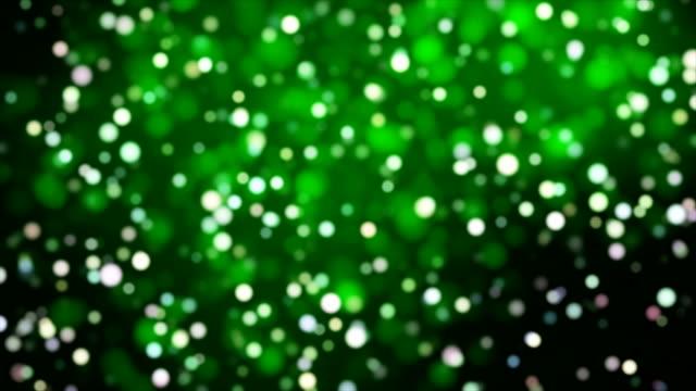 Broadcast Light Bokeh, Green, Events video