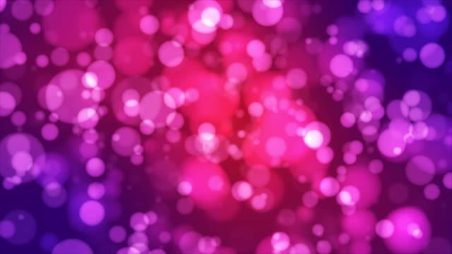 Broadcast Light Bokeh, Multi Color, Events video