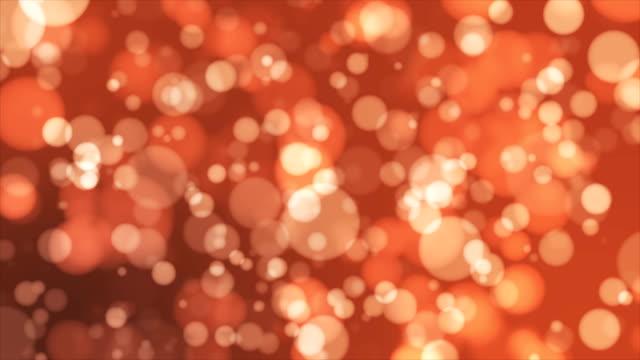 Broadcast Light Bokeh, Orange, Events video