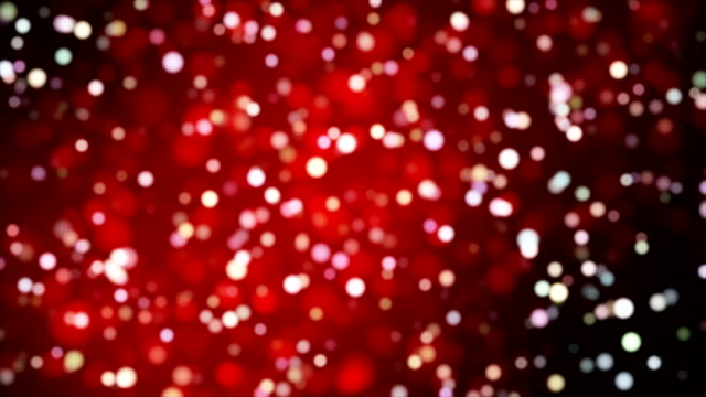 Broadcast Light Bokeh, Red, Events video