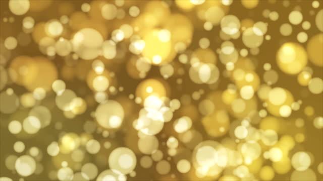 Broadcast Light Bokeh, Yellow, Events video