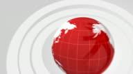 Broadcast Ready Globe Animation video