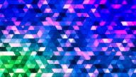 Broadcast Twinkling Polygon Hi-Tech Triangles 05 video