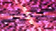 Broadcast Twinkling Polygon Hi-Tech Triangles 08 video