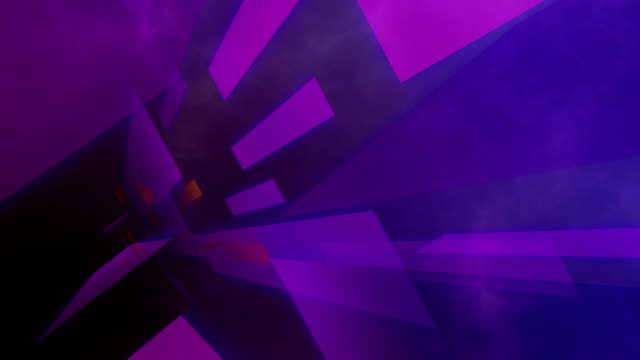 Broadcasting background purple & orange bars - HD video